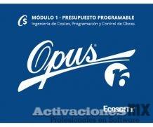 OPUS 2016 Presupuesto Programable Modulo 1 con Activador/SentinelKey Gratis