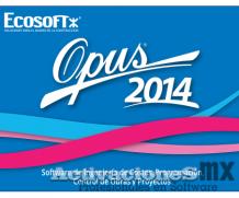 OPUS 2014 Control de Obra Presupuesto Programable Activacion Llave Ilimitada